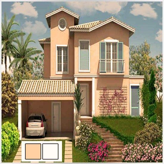 Colores para una casa por fuera 6 colores exteriores para casa pinterest 6 - Pintar exterior casa ...