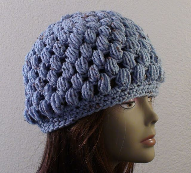 Crochet Hat Patterns With Instructions : Crochet Geek - Free Instructions and Patterns: Puff Stitch ...