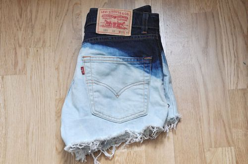 Levis are now almost imperative in a young woman's wardrobe; customising such as tie dying and studding are widely popualr