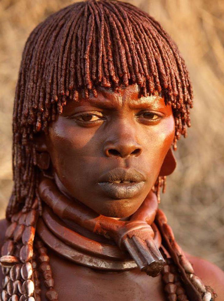 Африканские племена, Эфиопия (фото)