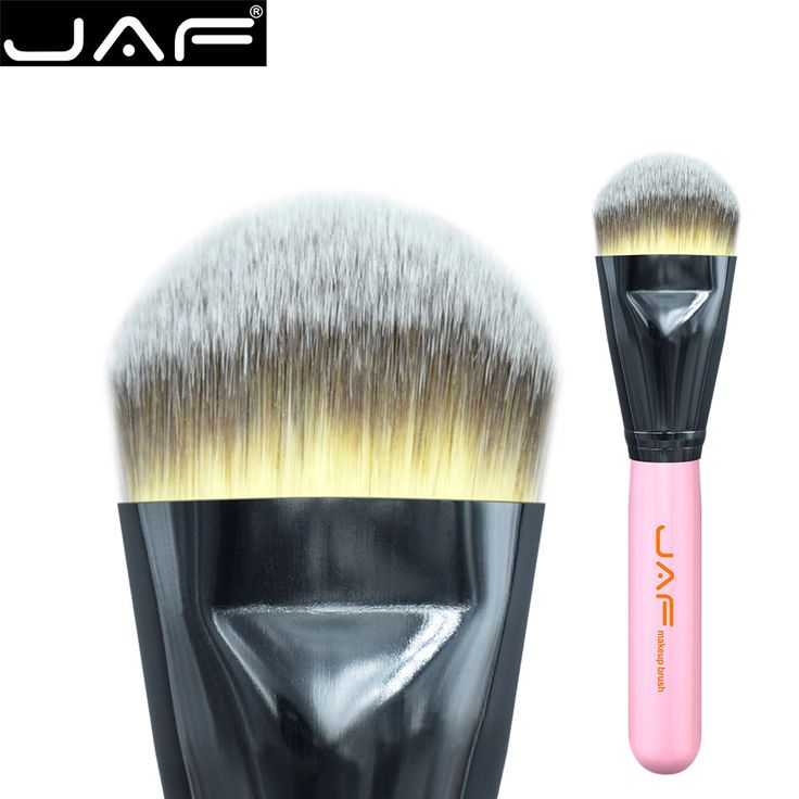 JAF 18STF Extra Large Kabuki Makeup Brush for Liquide Foundation and Face Cream Superfine Synthetic Taklon Vegan 18STF #Affiliate