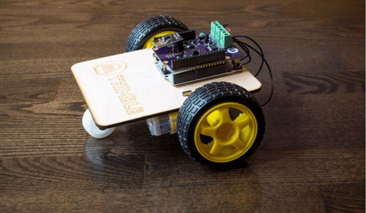 Thimble: awesome STEM subscription box for kids filled with serious robotics projects