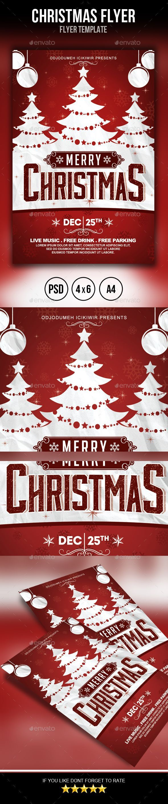 best images about holidays flyer design christmas flyer