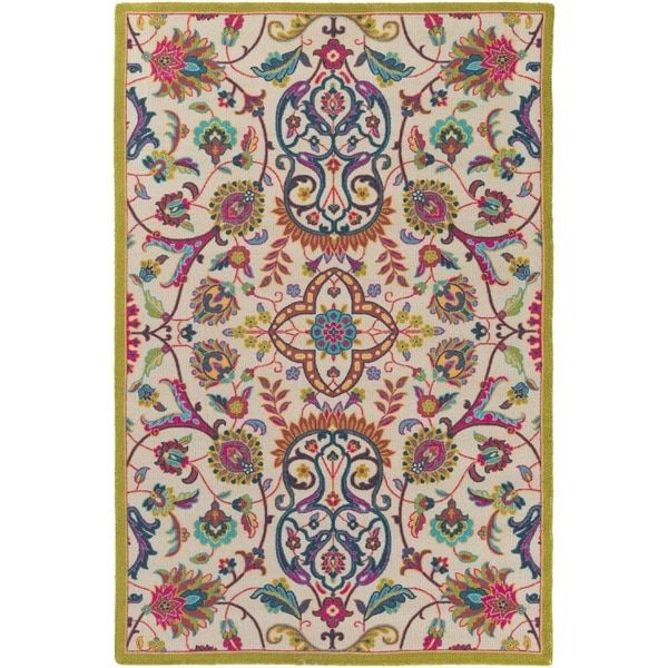 Meticulously Woven Western Nylon Rug (5'3 x 7'6)