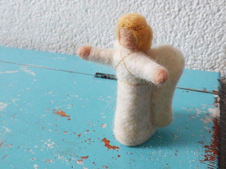 Weihnachtsfiguren - Engel - ein Designerstück von Waschbrett bei DaWanda