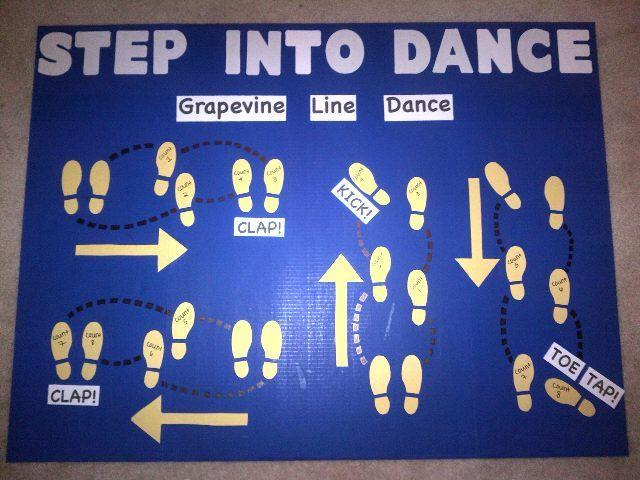 Step Into Dance Bulletin Board Pe Bulletin Boards