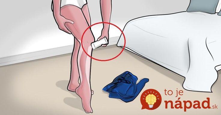 Neuveríte, ako vám môže poslúžiť tuhý dezodorant: TOTO je dôvod, prečo ho mať vždy poruke!