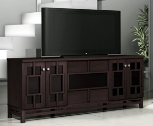 Asian Style 70 Quot Tv Console In Wenge Tv Stand Console 70