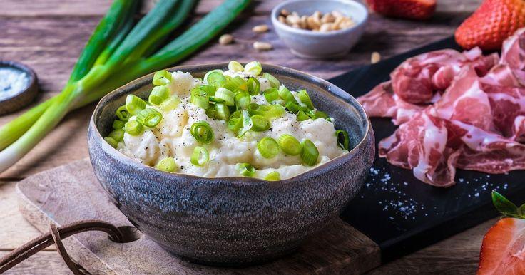 Enkel og god oppskrift på potetsalat med creme fraiche