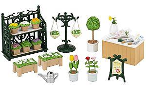 Sylvanian Families Ornate Garden Shop Set