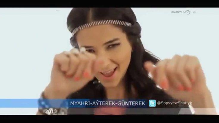 "Türkmen song: ""Aýterek Günterek"" - Mähri Pirgulyýewa"