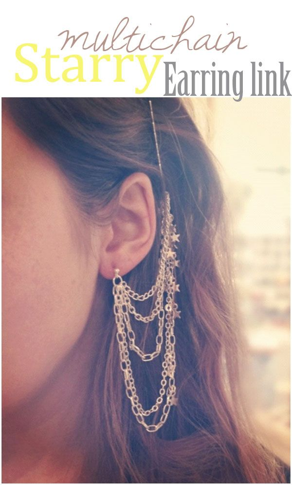 386 best diy jewelry images on pinterest jewelry ideas diy diy multichain earring solutioingenieria Images