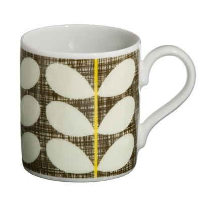 Cross Hatch Stem Mug from Orla Kiely