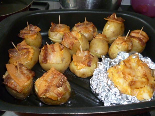 Úžasné plnené zemiaky - recept