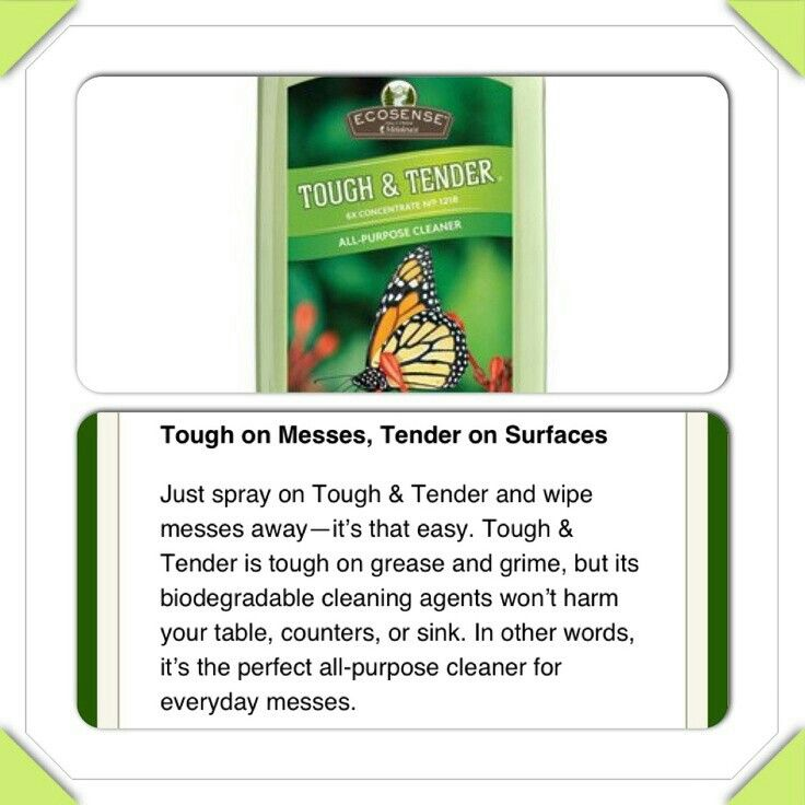 Tough & Tender - 12x All-Purpose Cleaner This quick, effective, 12x super-concentrated all-purpose cleaner cleans up everyday dirt and grime anywhere-counters, tables, appliances, even natural stone-using no caustic chemicals.