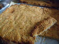 Glutenvrije quinoa-kokos-amandel-repen (ingrediënten, quinoa, kokosrasp, amandelmeel, glutenvrije meel, suiker en ei) (@ Glutenvrije Mama)