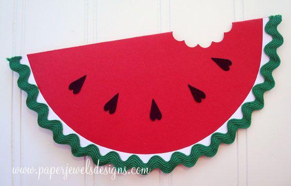 Watermelon Invitation