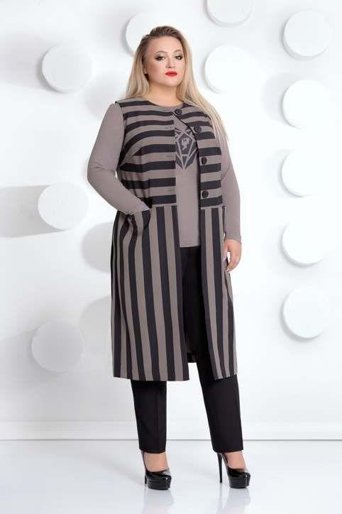 b3c856aebcb5490 Коллекция женской одежды больших размеров белорусской компании Mubliz  осень-зима 2018-19