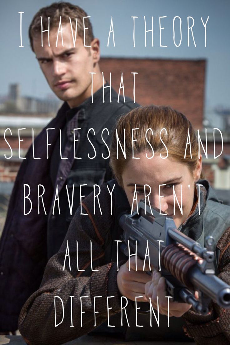 Gotta love Tobias and tris!