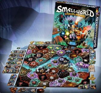 Small world underground game - the best idea for a party!