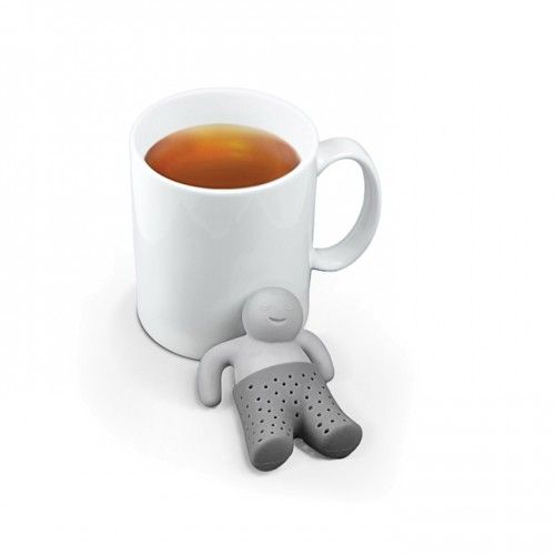 Mr. Tea Strainer & Infuser | Yellow Octopus teastranier #gifts #gadgets #toys