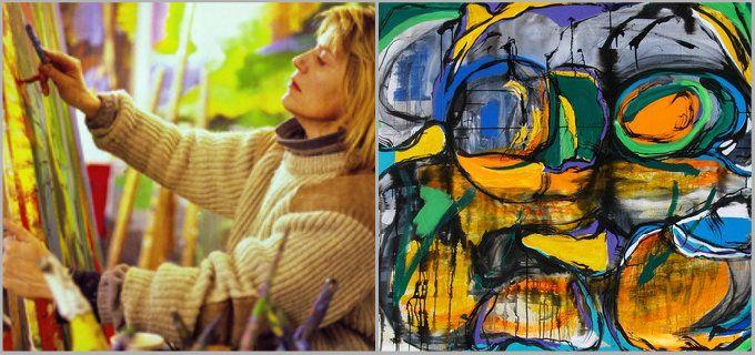 HANNE HERMANN MALERI Forskellige størrelser og farver -40 procent på alle #HANNEHERMANN kunstværker. http://www.arthannehermann.dk/
