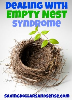Dealing With Empty Nest Syndrome - Saving Dollars & Sense | Coupon & Review Blog