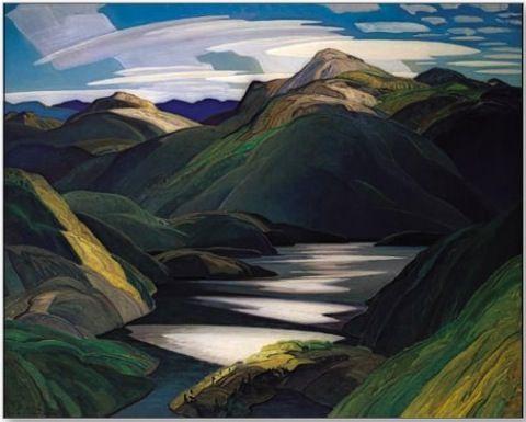 Franklin Carmichael - Mirror Lake, Light and Shadow
