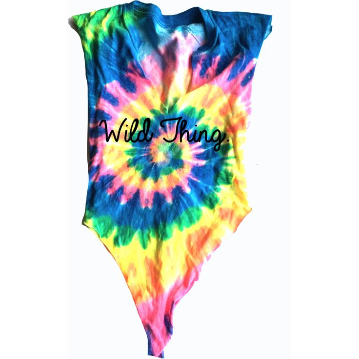 Wild ThingTie Dye T shirt Bodysuit. SNaps ** All items are one of a kind and hand made. They may vary in elements, or garments. adidas, 2017, nike, iphone