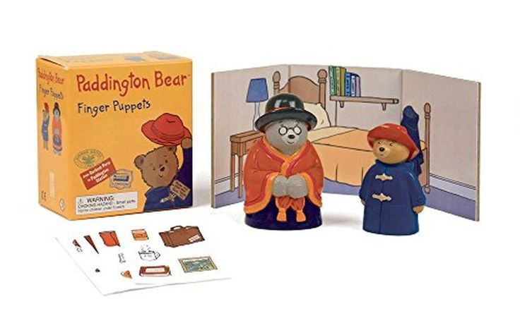 Paddington Bear Mini Gift Set Miniature Finger Puppets And Paperback Book