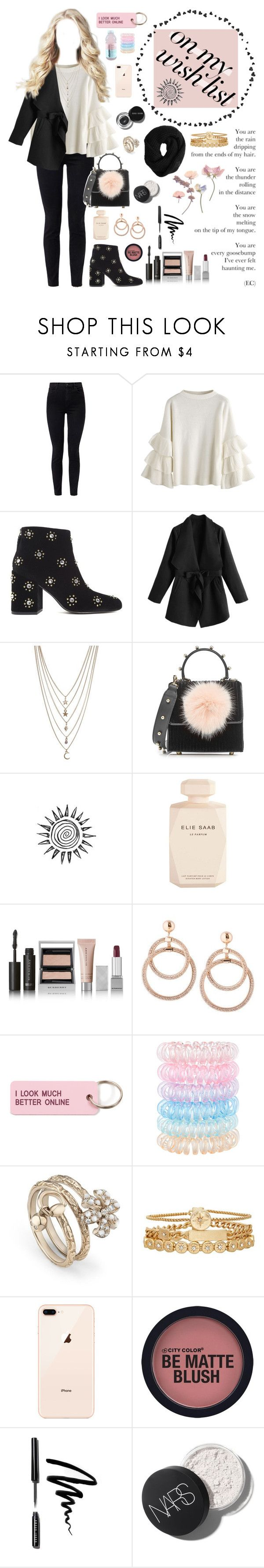 """""""#PolyPresents: Wish List"""" by bia-monteiro-98 ❤ liked on Polyvore featuring J Brand, Senso, Ettika, Les Petits Joueurs, Elie Saab, Burberry, Various Projects, Accessorize, Gucci and Treasure & Bond"""