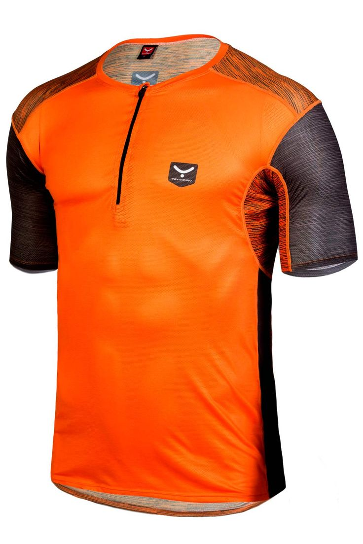 CAMISETA TRAIL RUNNING HOMBRE TANGERINE R21 | Taymory