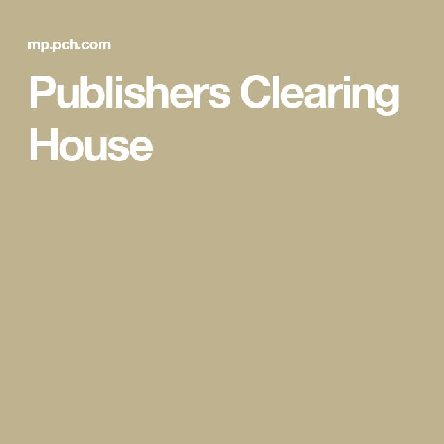 Images Of Publishers Clearing House Check