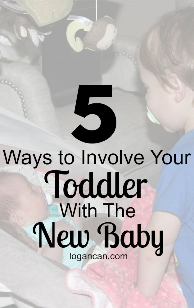5 Ways to Involve Your Toddler with the New Baby