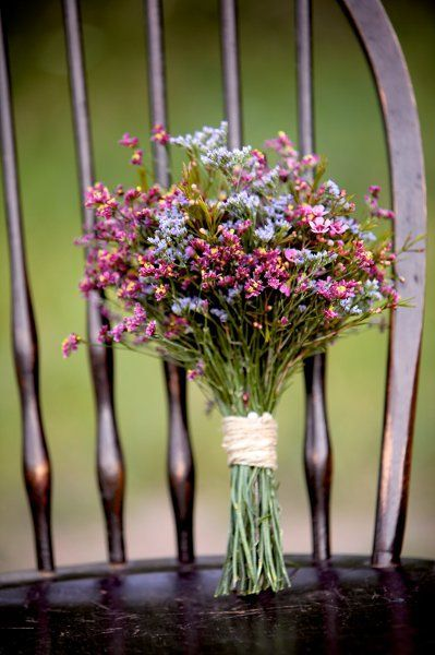 Multicolored wildflower wedding bouquet - My wedding ideas