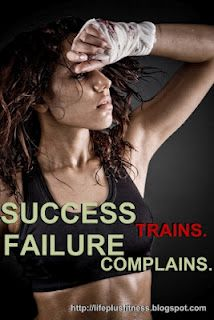 Great blog with inspirational sayings to keep you motivated.