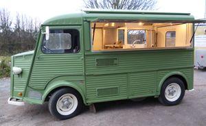 Citroen H Van Conversion, Mobile Catering Van