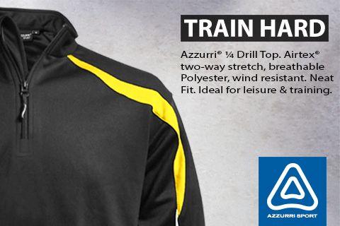 Azzurri Sport 1/4 Zip Drill Top