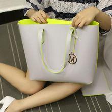 2016 New Women's Handbags High-Quality Fashion Minimalist ...