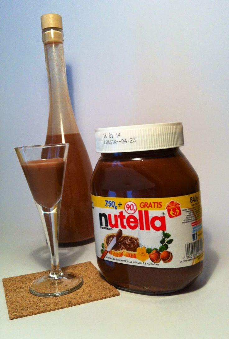 Fatto in casa: Nutellino, il liquore alla Nutella fatto in casa