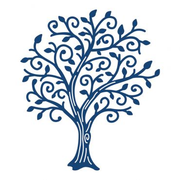 Tattered Lace Tree of Wonder Die, now available at Top Dog Dies