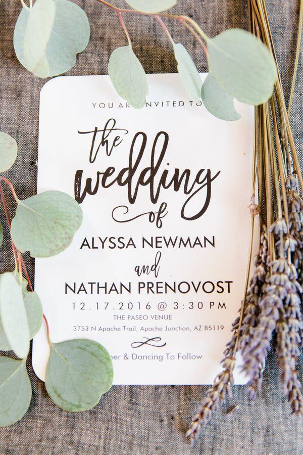 Romantic Desert Themed Wedding In Arizona Rustic Wedding Chic Rustic Wedding Wedding Invitations Rustic Chic Wedding