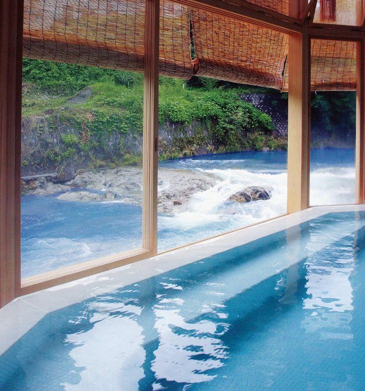 越後大湯温泉  新潟県魚沼市 Ohyu hot spring, Niigata, Japan