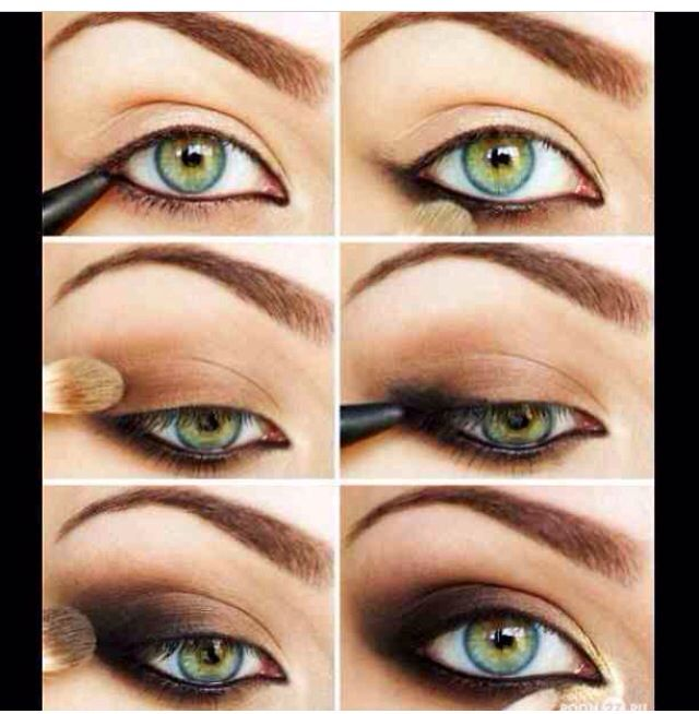 ... tutorial | Try This Makeup Look | Pinterest | Eye Makeup Tips, Makeup