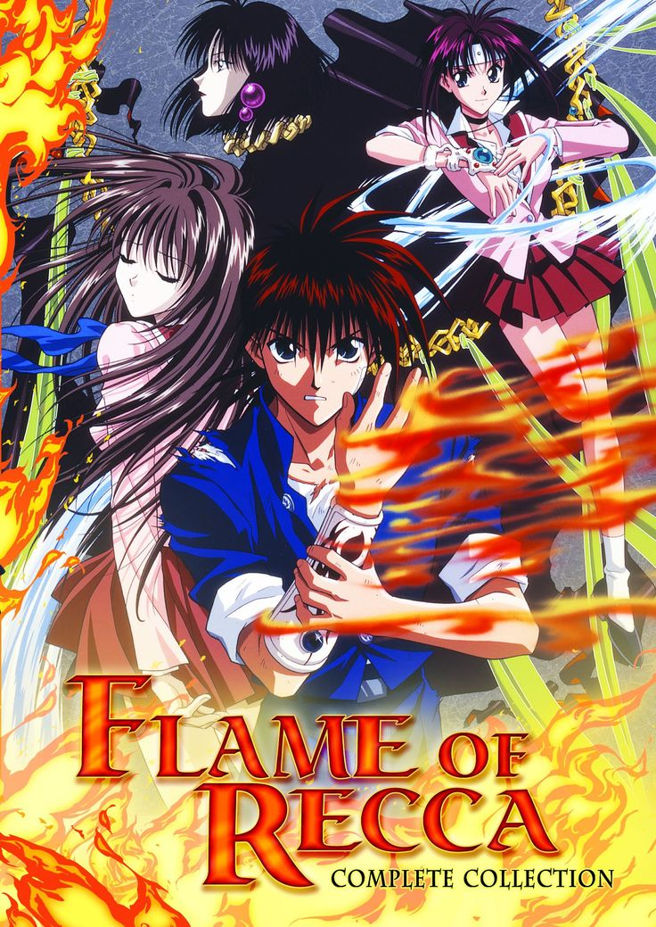Flame Of Recca Complete Tv Series 6 Dvd Edizione Stati
