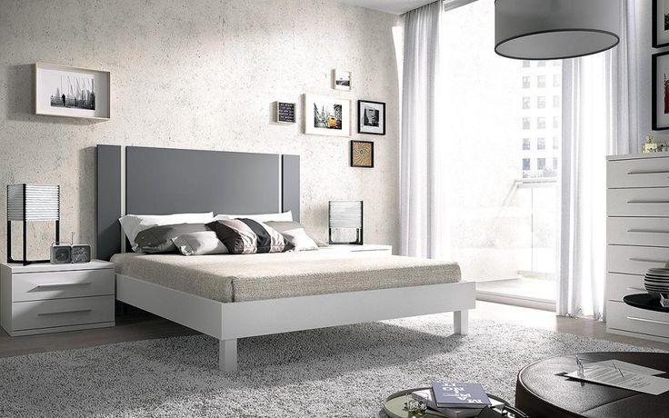 Dormitorio moderno (237 – D1) - Muebles CASANOVA