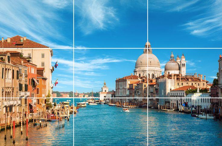 Tipps zur Anwendung der einfachen Drittel-Regel Goldener Schnitt: Harmonische Bilder fotografieren