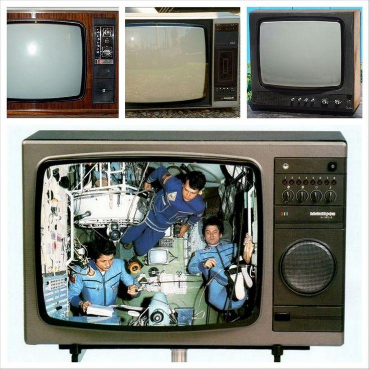 Советские телевизоры – винтажный дизайн для вашего интерьера
