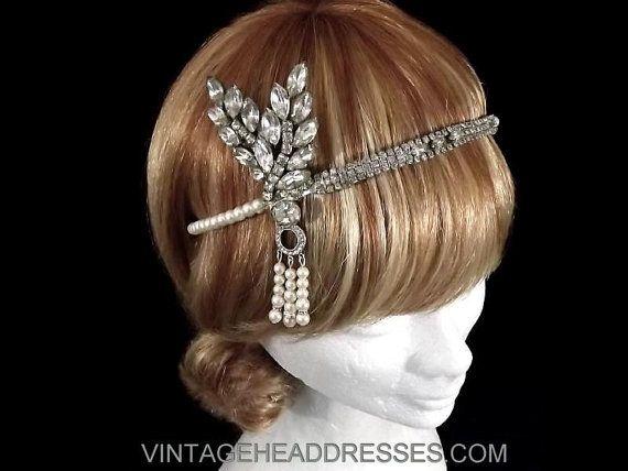 Diamonte tiffanys replica headband