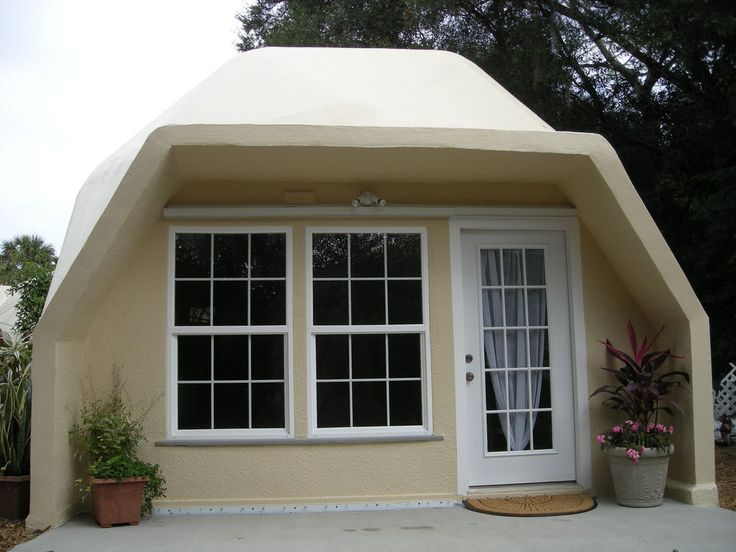 Prefab home kit geodesic tiny dome home fire resistant for Precast concrete homes florida